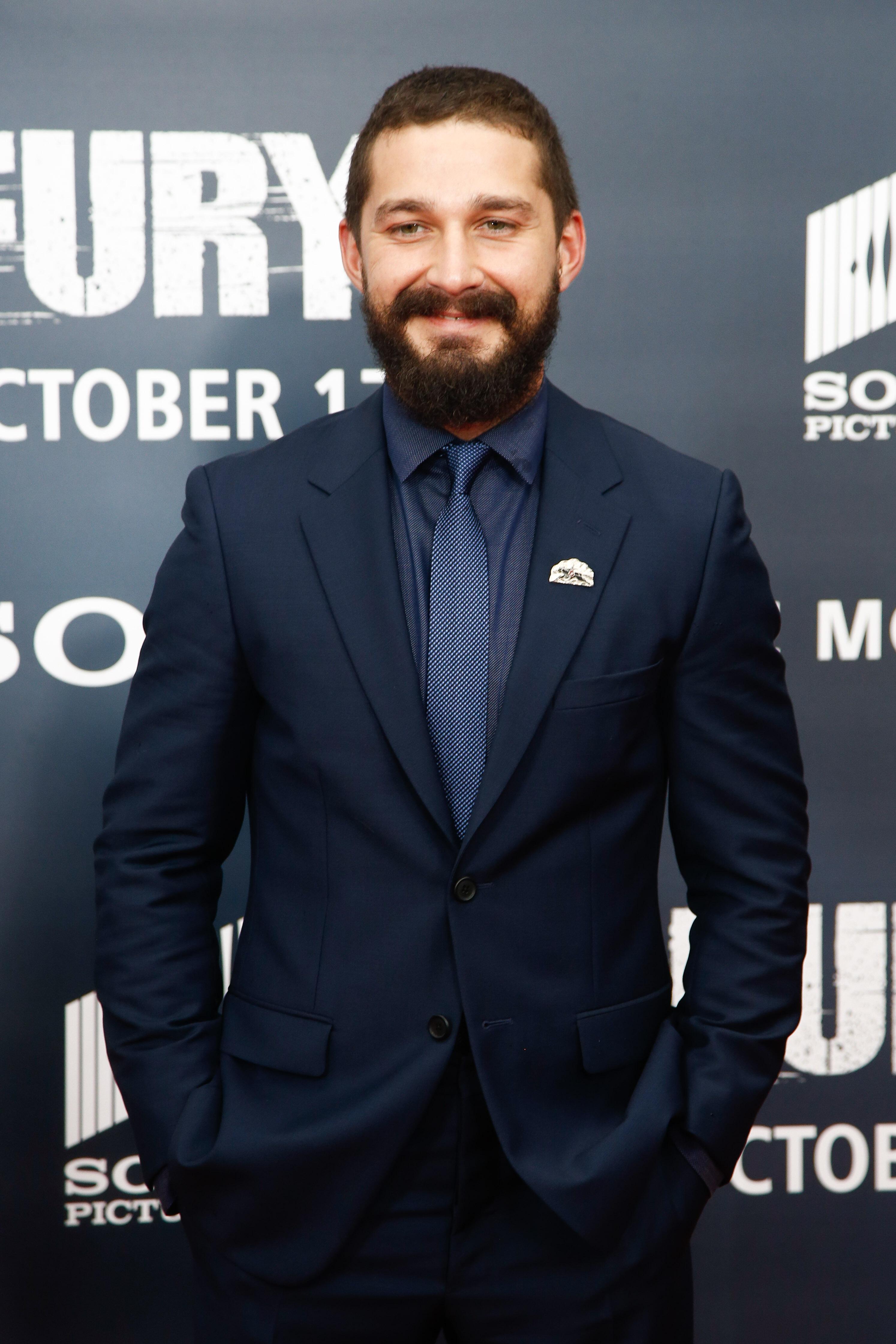 El actor Shia LaBeouf (Shutterstock)