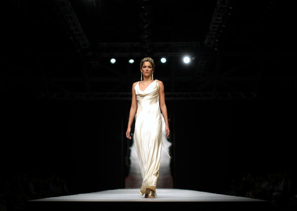 Uno de sus desfiles en el Puerto Rico High Fashion Week en el 2009. (Archivo)