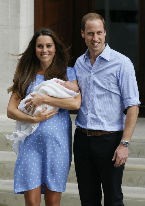 En el 2013 nació el primogénito de los duques de Cambridge, el príncipe George. (Foto: Archivo)