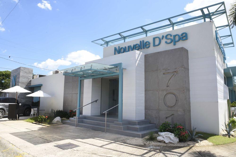 Fachada actual de Nouvelle D'Spa en la Avenida Andalucía en San Juan. (Foto: Ingrid Torres)