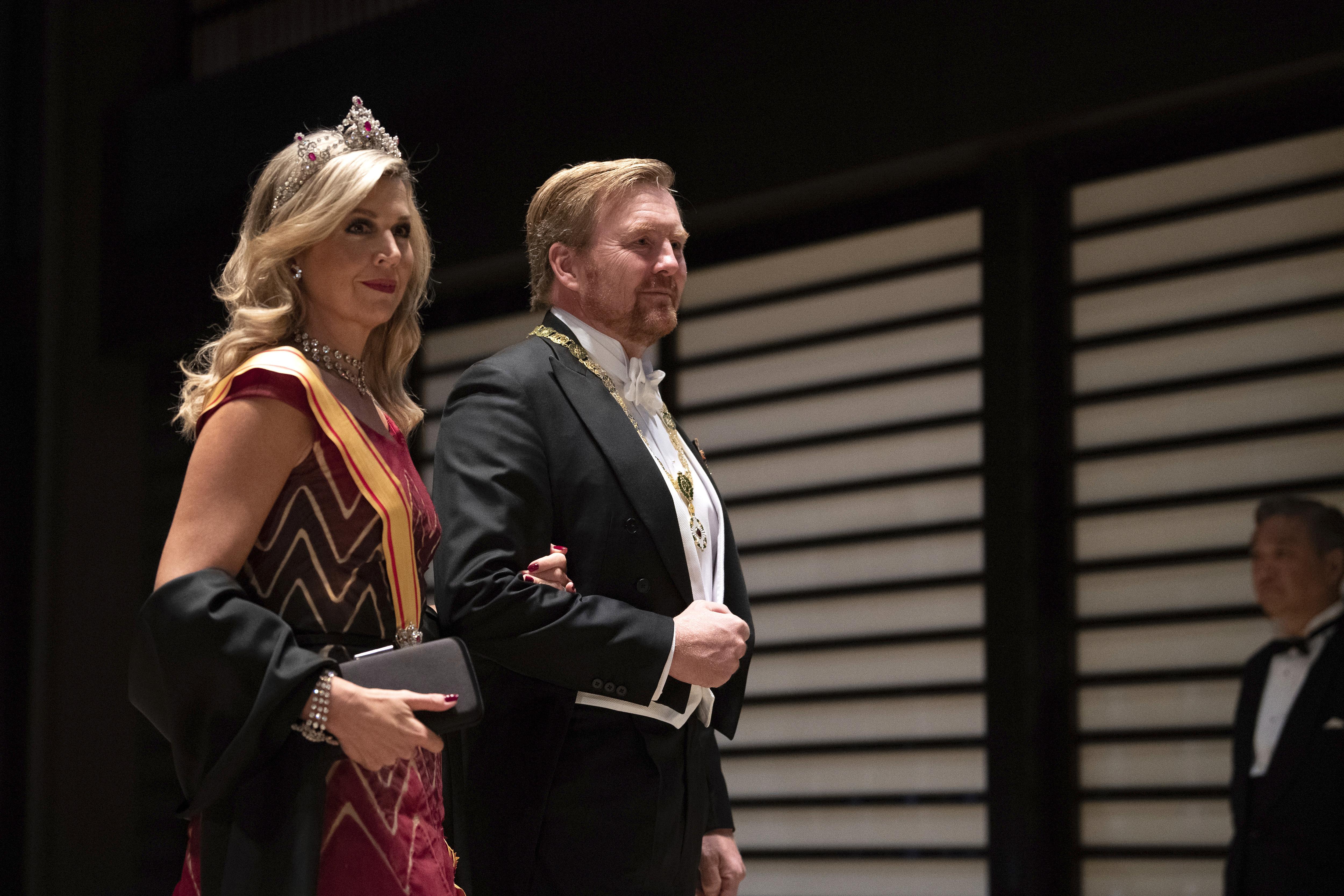 Los reyes de Holanda Willem Alexander y Maxima (AP)
