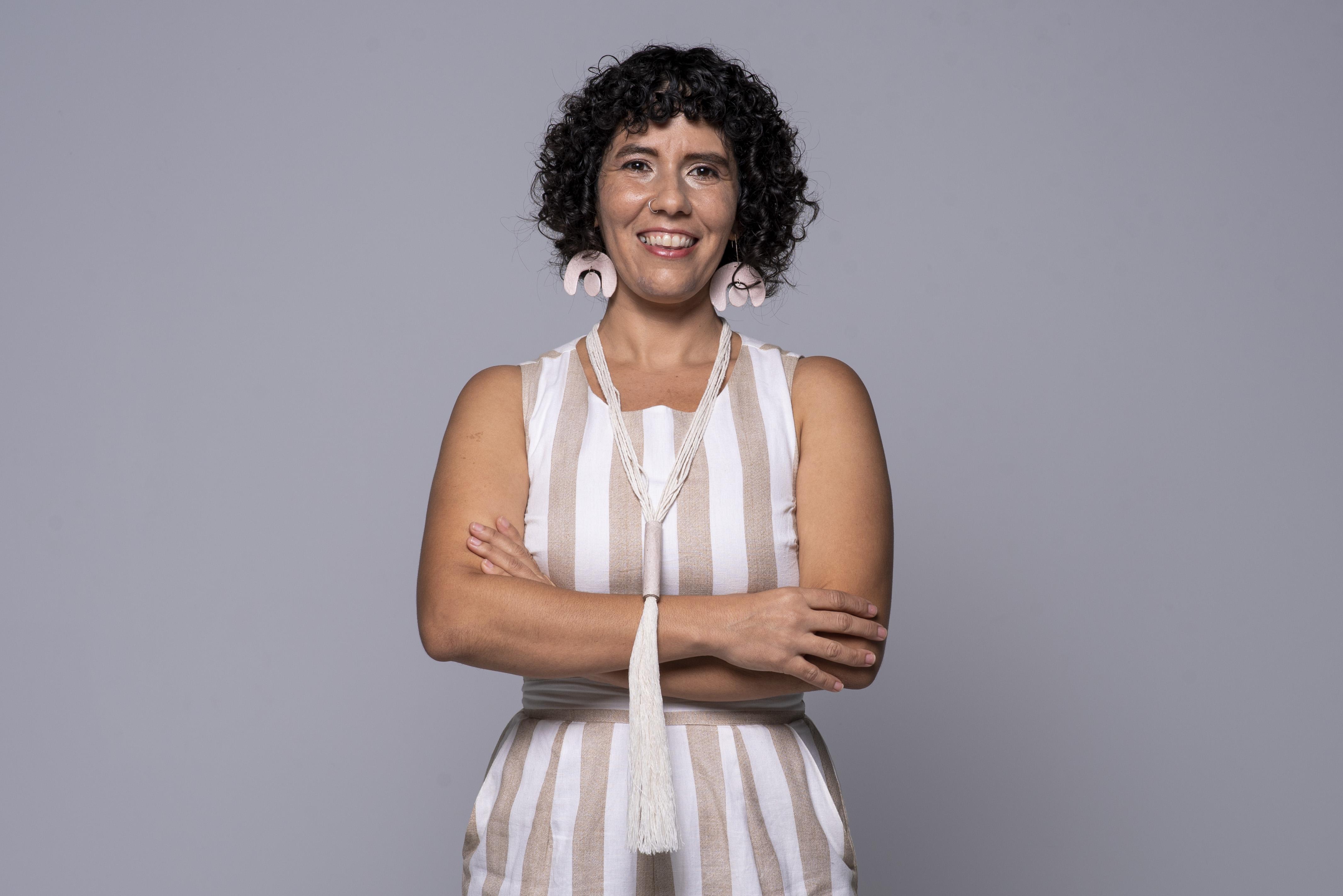 Elda González Santiago es la creadora de Eco Factoría. (Foto: Neidy Rosado)