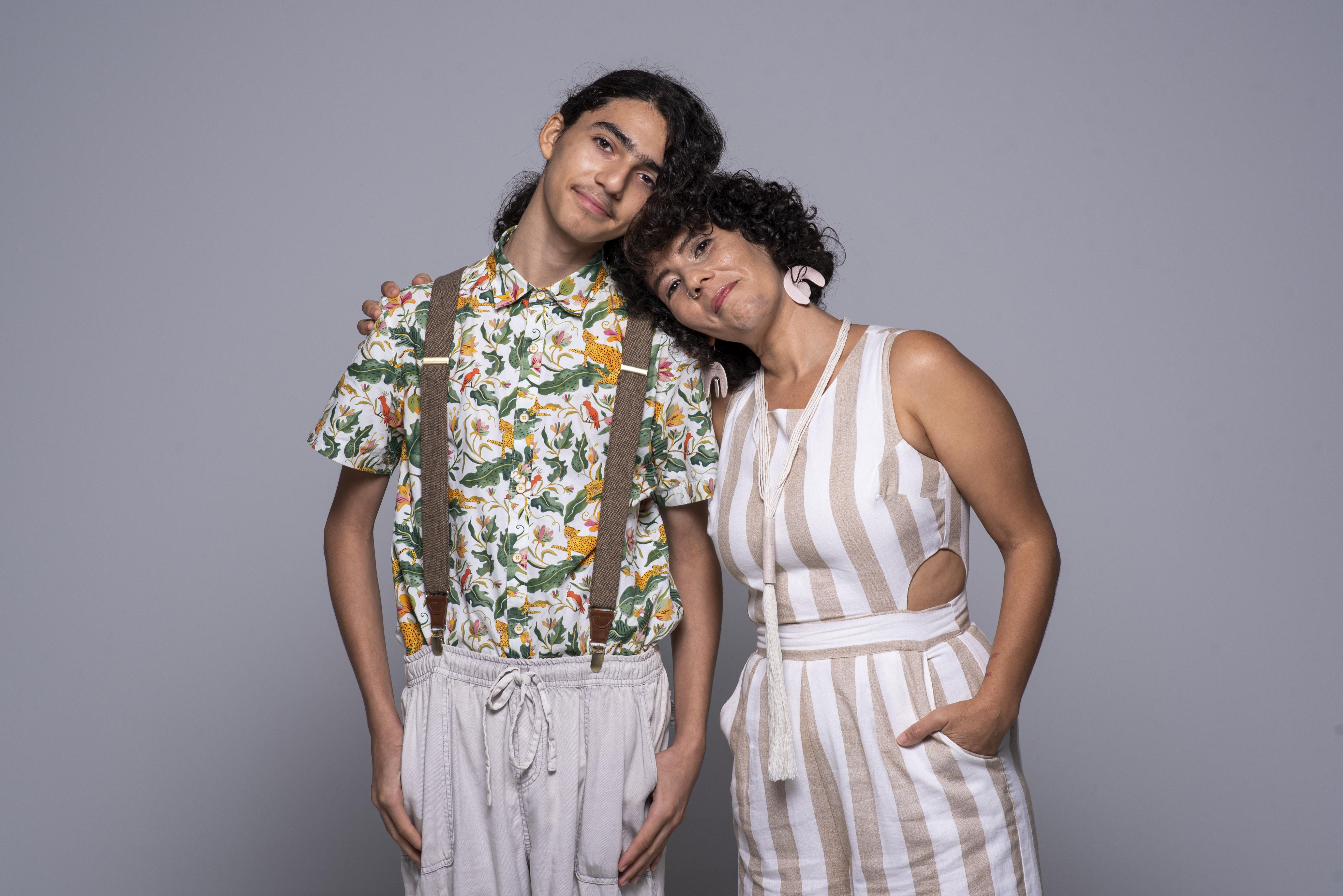 Sebastián Torres González y Elda González Santiago (Foto: Neidy Rosado)