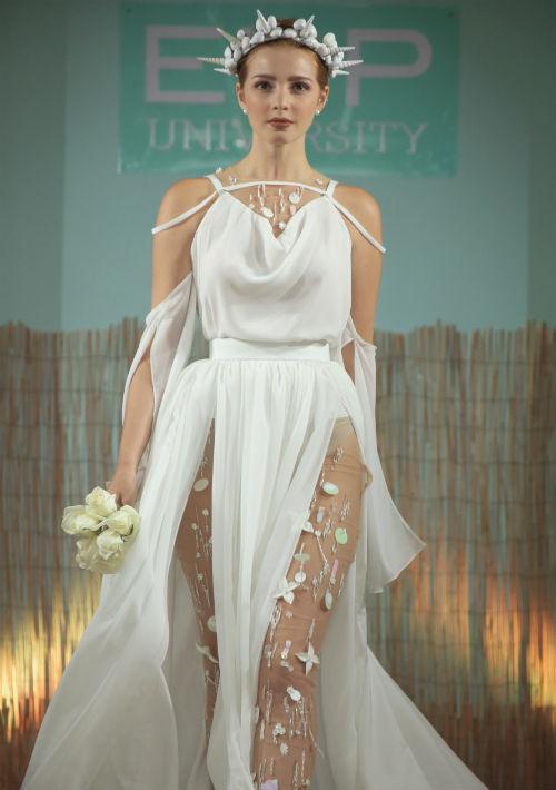 """Moda de Kevin Pantojas, ganador del premio """"Total Look"""" en la categoría de bachillerato."""