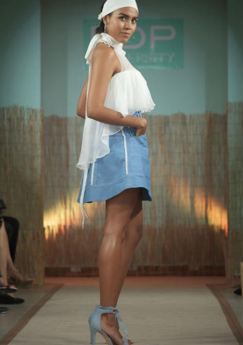 """Diseño de Hernan Nadal, premio """"All Around"""" y """"Total Look"""" en grado asociado."""