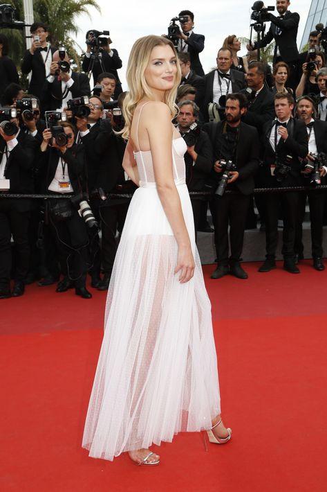 Lily Donaldson en Dior. (AP)