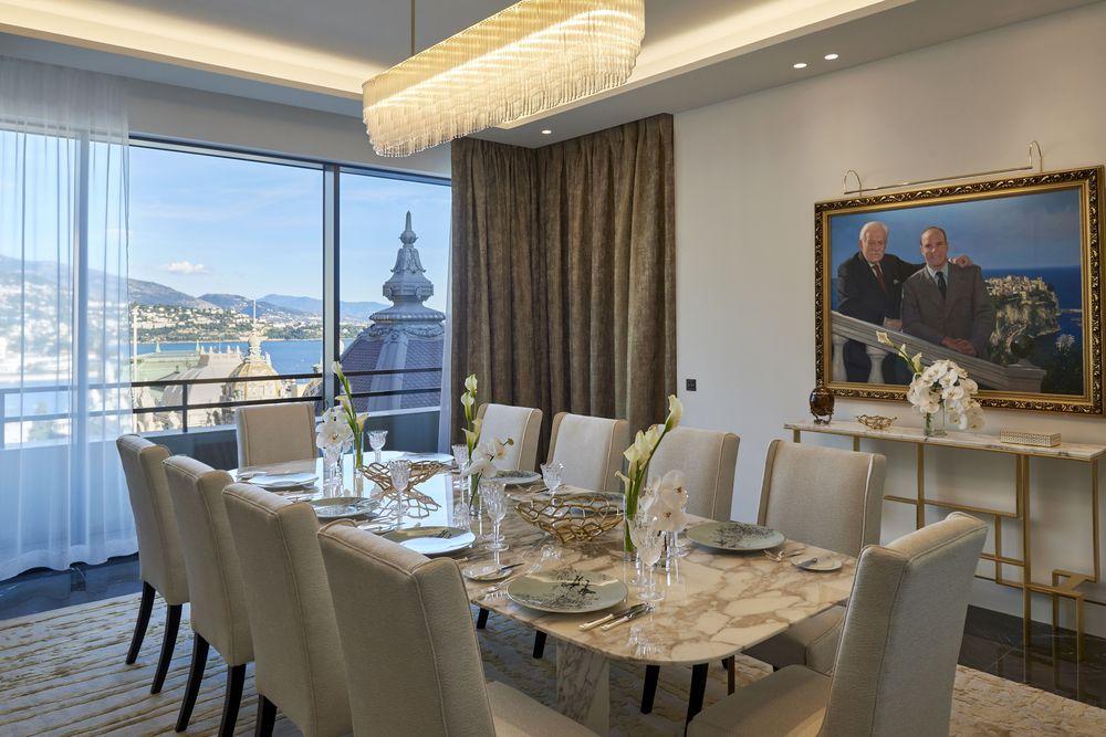Pernoctar en la Suite Príncipe Rainiero III ella cuesta 30 mil euros diarios. Foto suministrada.