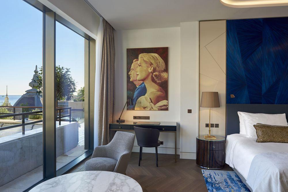 La Princesse Grace ocupa los dos últimos pisos y ofrece espectaculares vistas del Mar Mediterráneo desde sus tres amplias terrazas. Foto suministrada.
