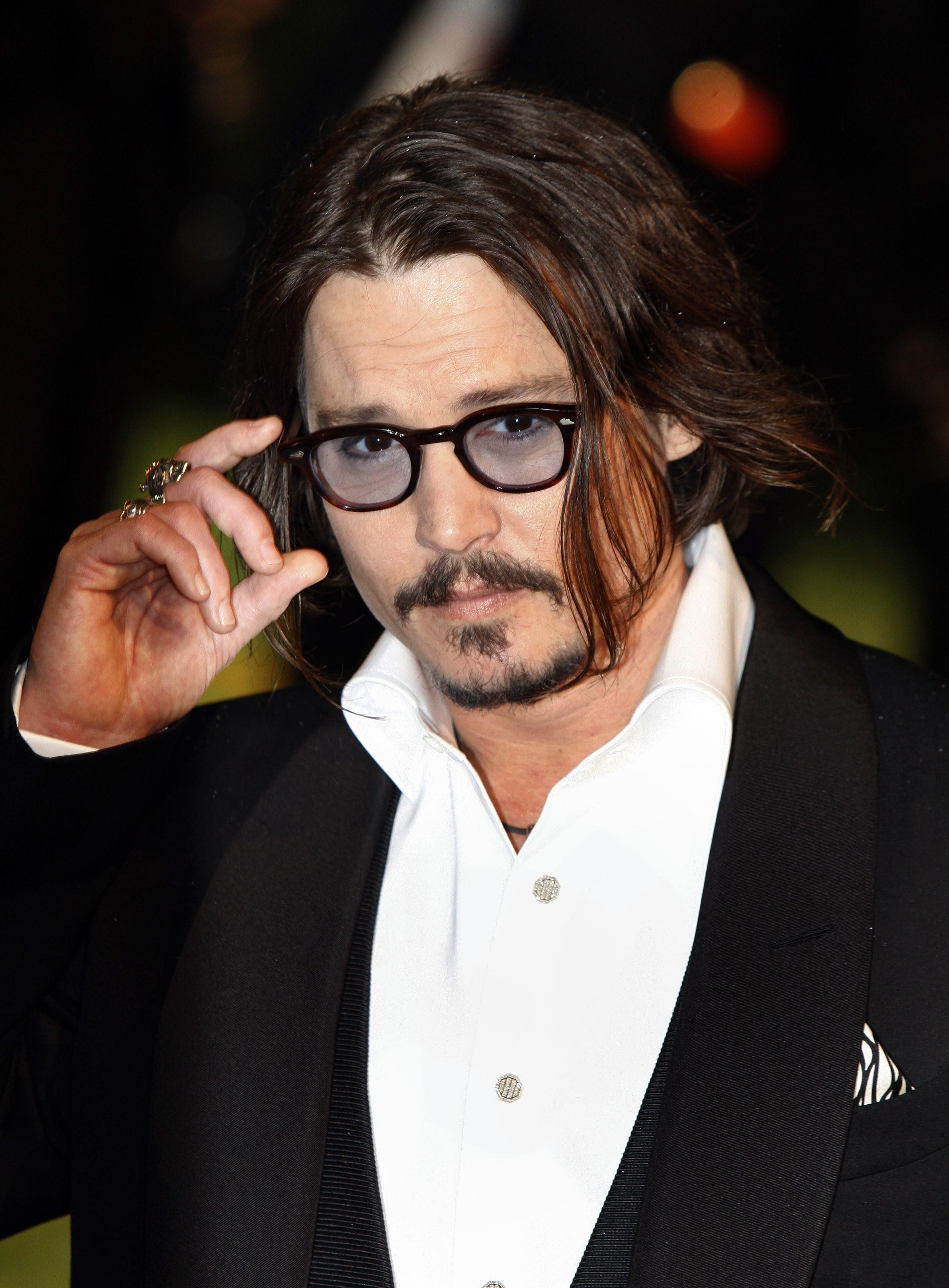 El actor Johny Depp (Archivo)