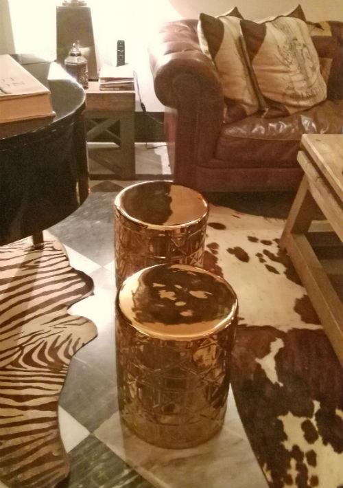 """Unos elementos decorativos de """"Sibarita Life"""", en Calcuta. (Foto: EFE/Marga Sánchez Pacheco)"""