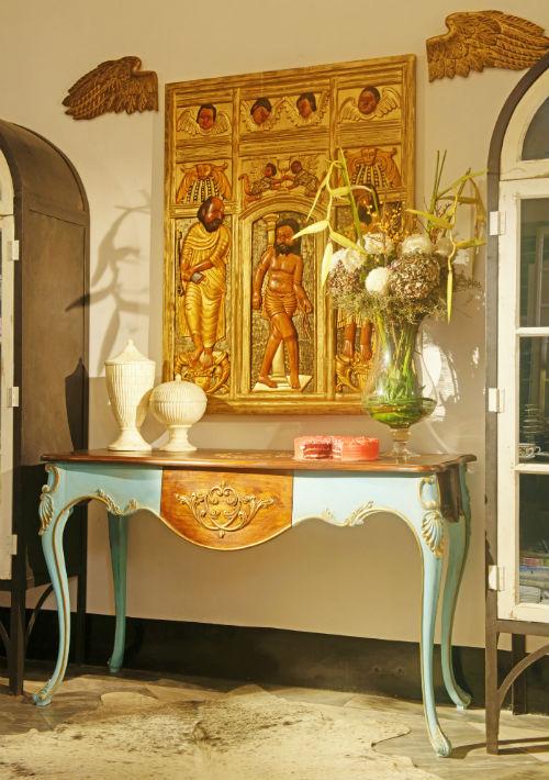 """Uno de los elementos decorativos más representativos de la firma """"The Blue Passion"""". (Foto: EFE /Suministrada)"""