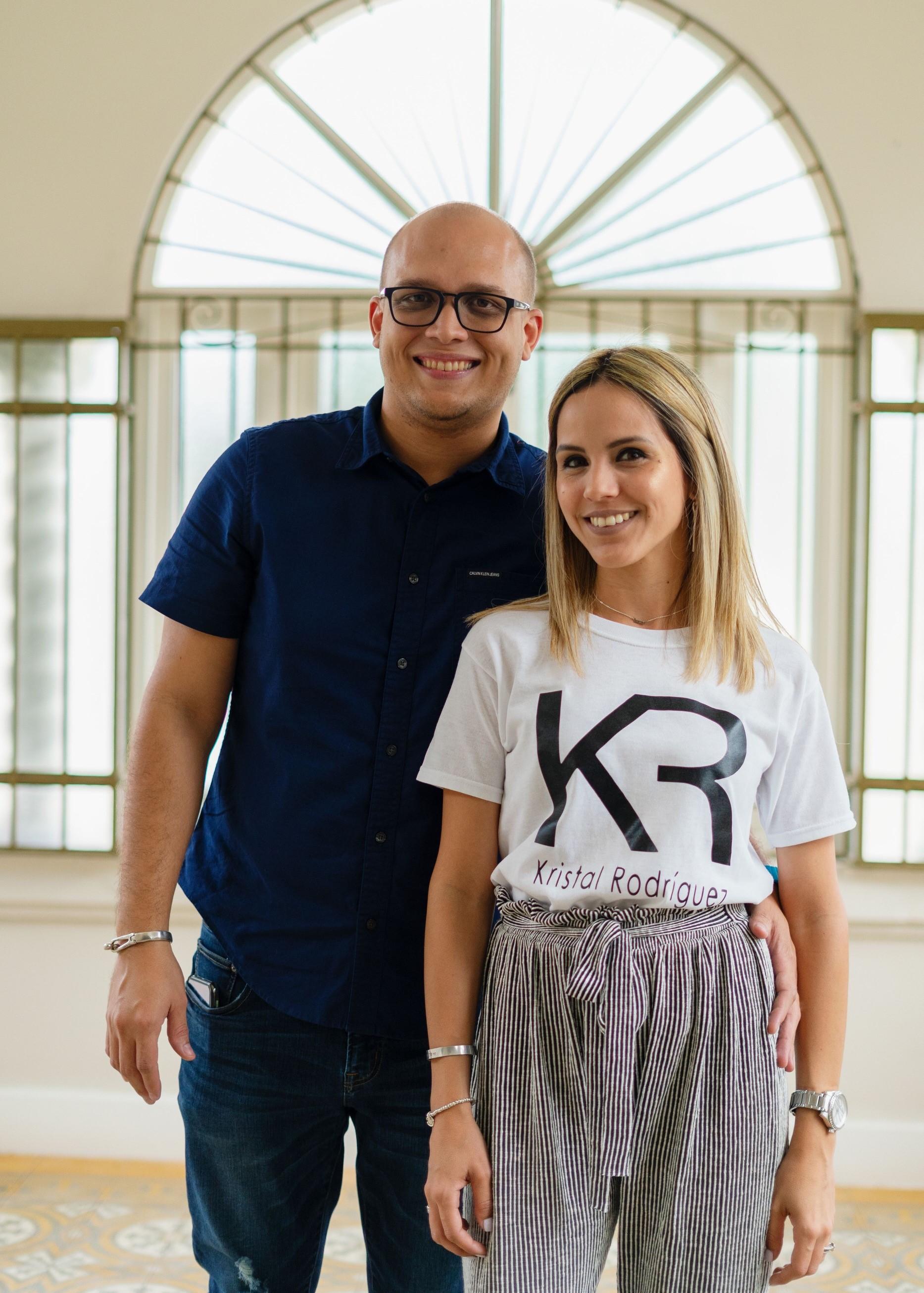Javier Rivera y Kristal Rodríguez han encontrado la manera de unir su creatividad. (Suministrada)