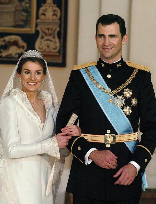 El día de su boda utilizó un vestido diseñado por Manuel Pertegaz. (Foto: Archivo)
