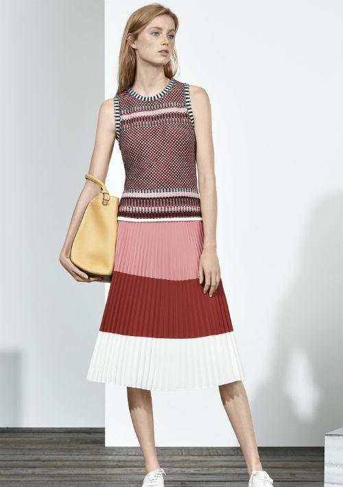 Midi y mini: Como un anticipo del otoño, el largo de la falda varía entre bien corta o a tres cuartos de pierna. La selección dependerá no solo de tu gusto sino también la ocasión, el lugar y el estilo. (WGSN)
