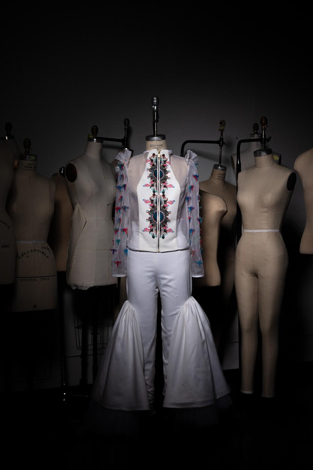 Conjunto perteneciente a la colección Stranded, presentada en París en 2018. (Suministrada/ Frankie Photography)