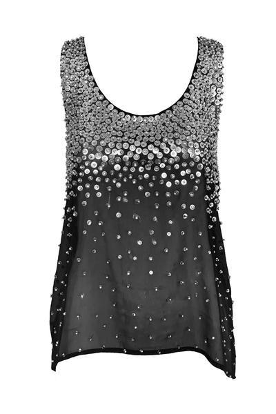 Blusa con detalles de lentejuelas de Olivia Boutique. (Suministrada)