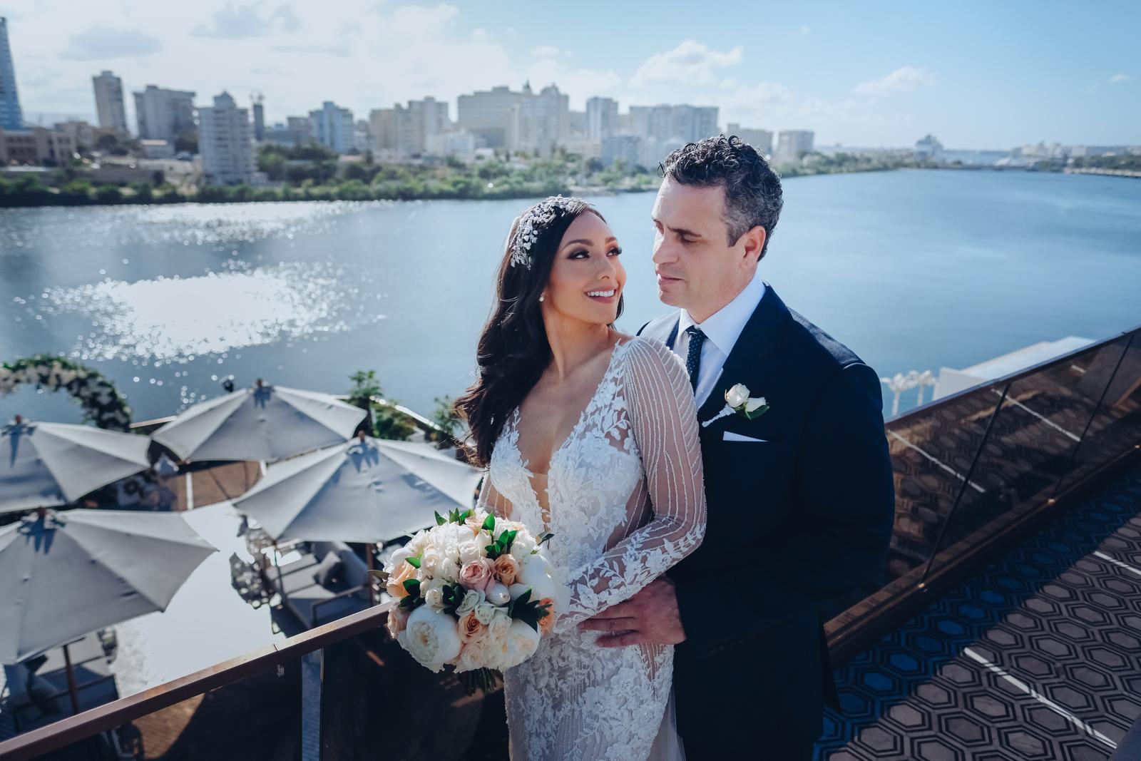 Nicole Chacón y Roberto González disfrutaron del proceso de preparar su boda. (Foto: Emilio Leon Photography)