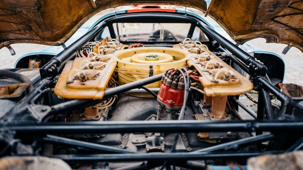 Motor del Porsche 917 K