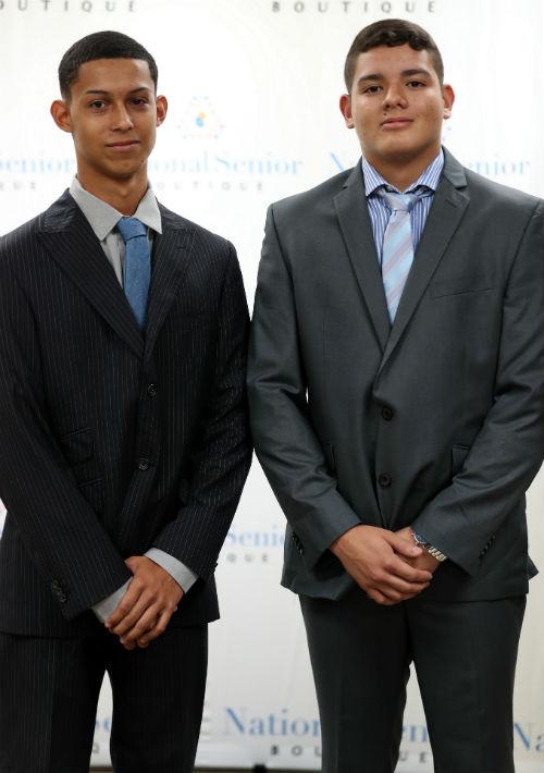 Emanuel Lasanta y Jazhel Vargas. (Fotos: David Villafañe)