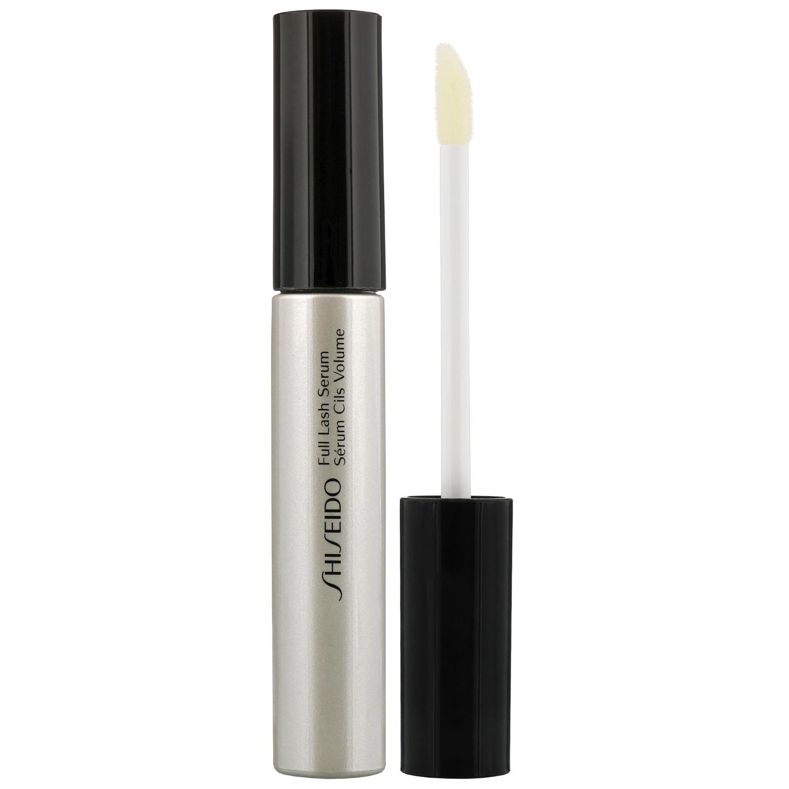Full Lash and Brow Serum - Shiseido cuenta con este suero de alto rendimiento con tecnología sofisticada para pestañas largas y espesas, además de cejas más pobladas. La arginina es el ingrediente que ayuda a mantener la condición de las pestañas y el vello de las cejas. (Suministrada)