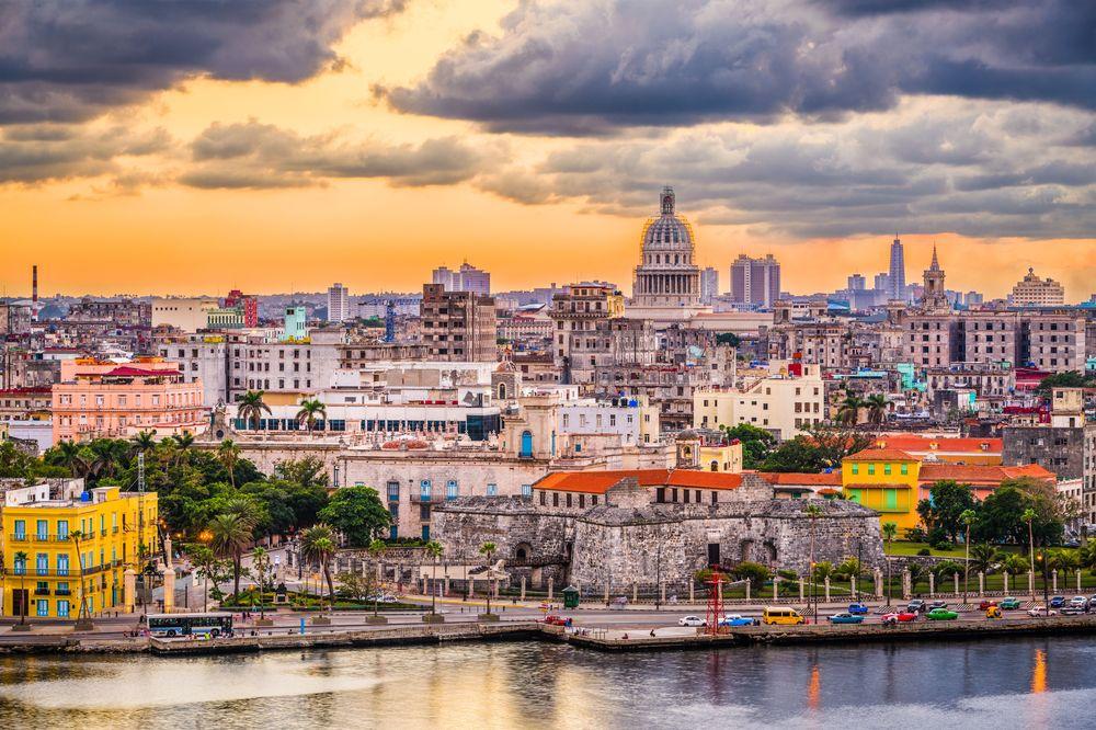 Vista de La Habana, Cuba, donde se celebrará Le Dîner en Blanc por primera vez este año.