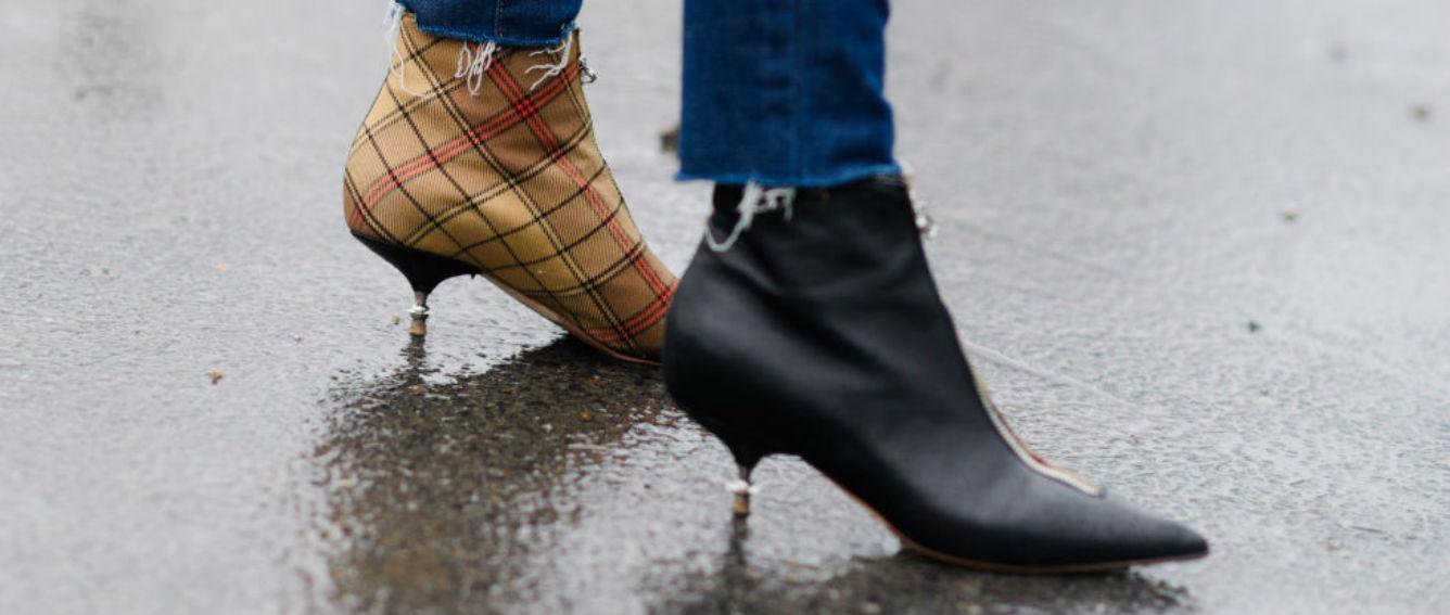 """""""Street style"""" durante el desfile otoño-invierno 2017 de Celine. (WGSN)"""