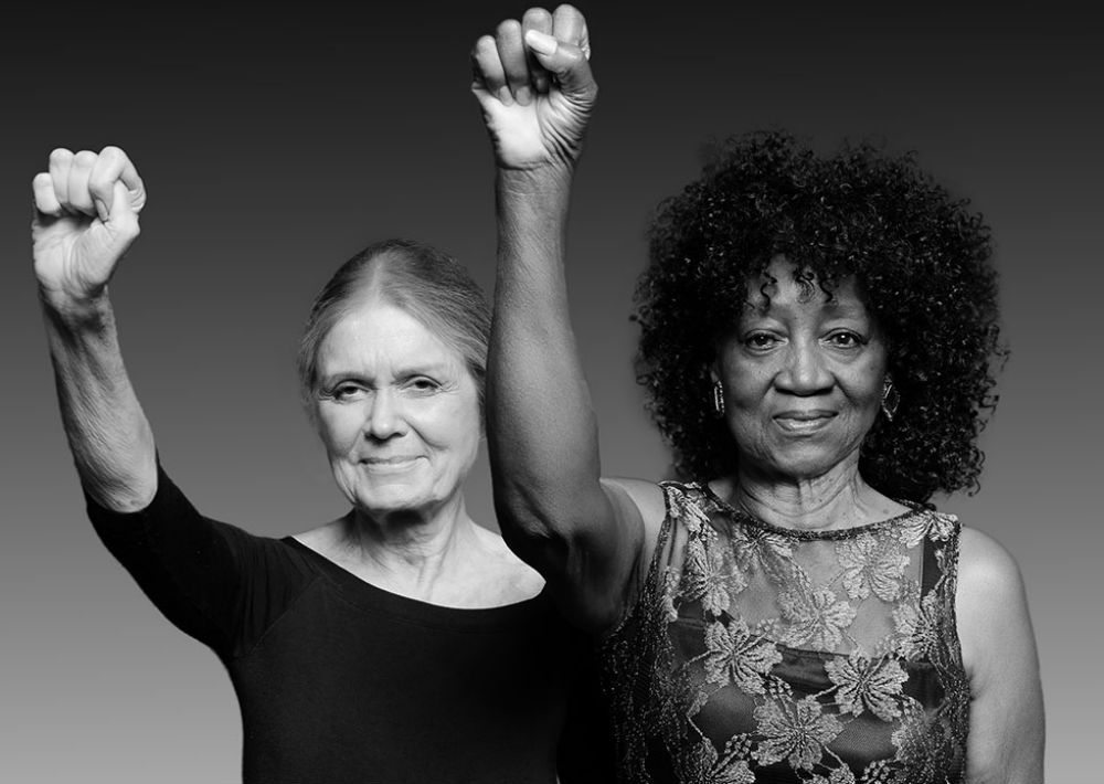 Gloria Steinem y Dorothy Pitman Hughes, fotografiadas por Dan Bagan, 2014 (Suministrada/Museum of the City of New York)