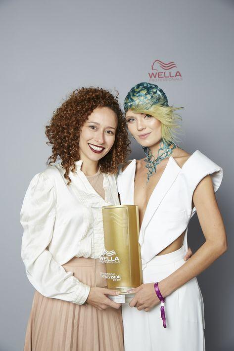 Premio de Oro en categoría Creative Vision- Gisleine Bernhardt de Brasil