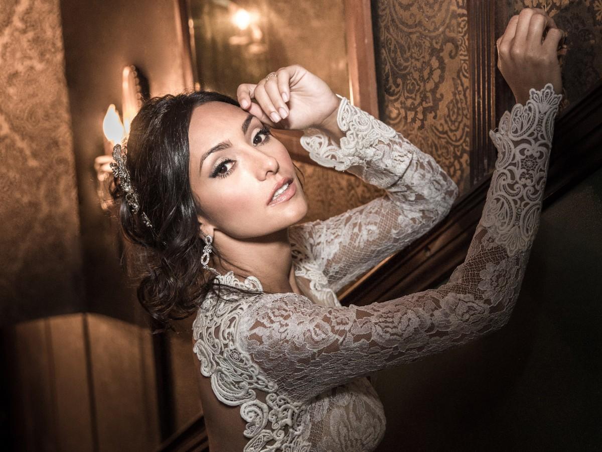 Nicole Chacón se prepara para su boda