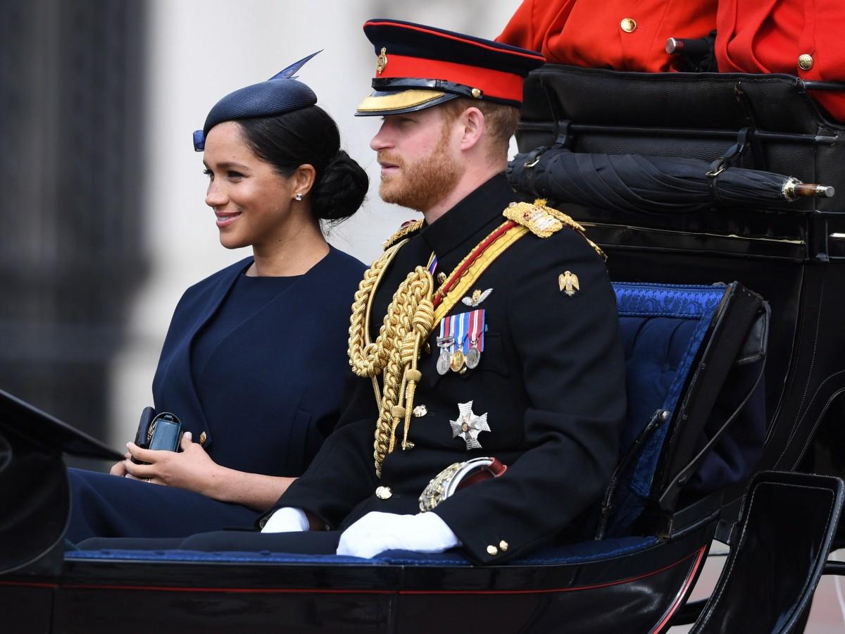 La realeza británica celebra los 93 años de Elizabeth II con un desfile de gala