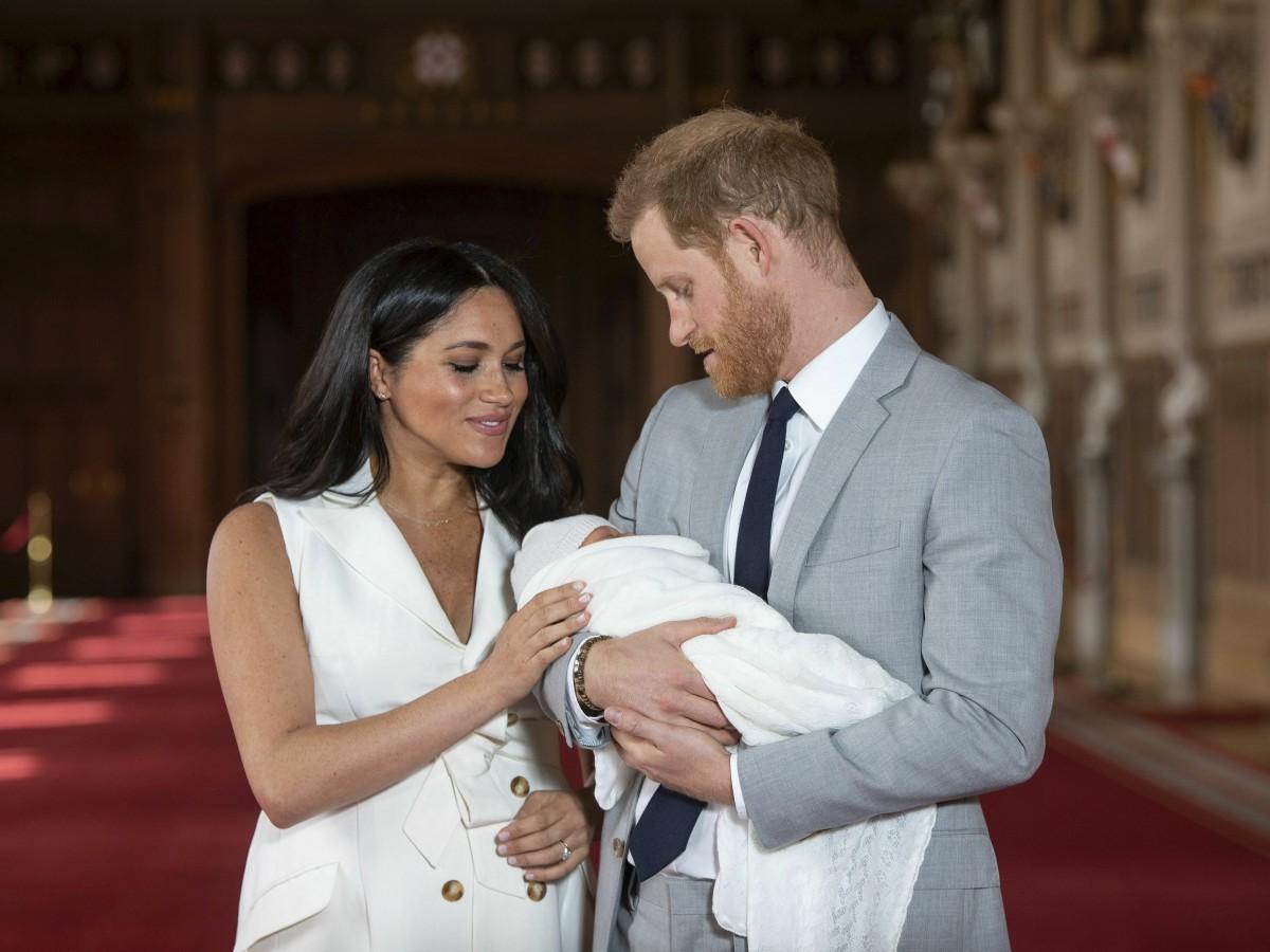 Hay fecha para el bautizo del hijo de los duques de Sussex