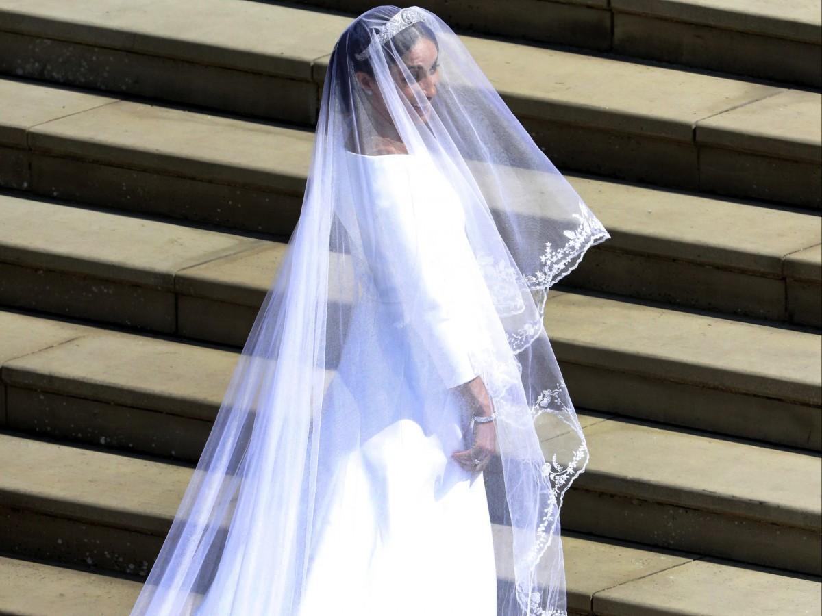 Seis curiosidades detrás del vestido de novia de Meghan Markle