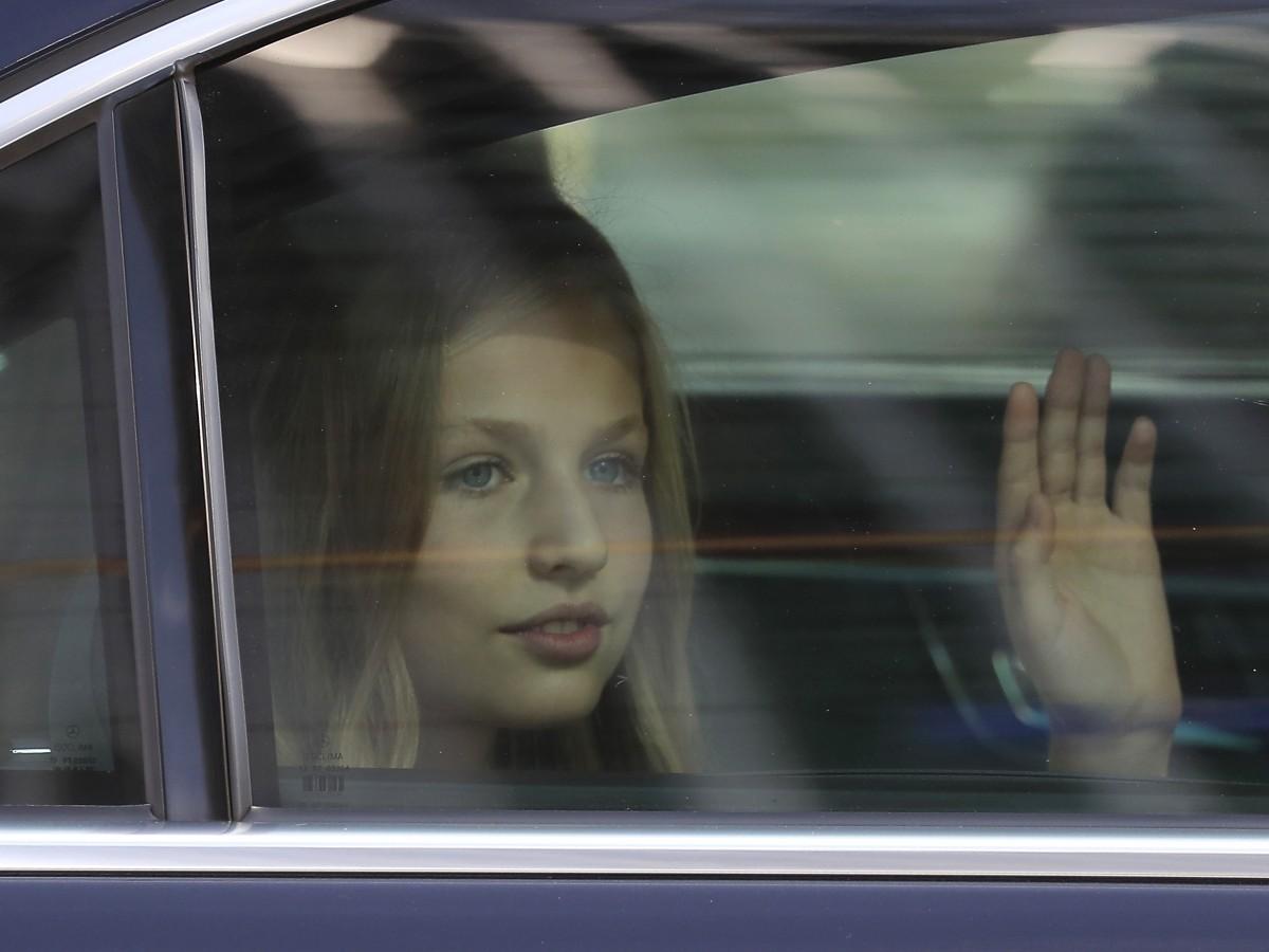 La clase de la princesa Leonor guardará cuarentena por un positivo de COVID-19