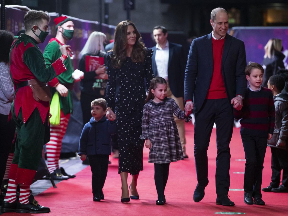 El príncipe William y su familia agradecen a trabajadores de la salud