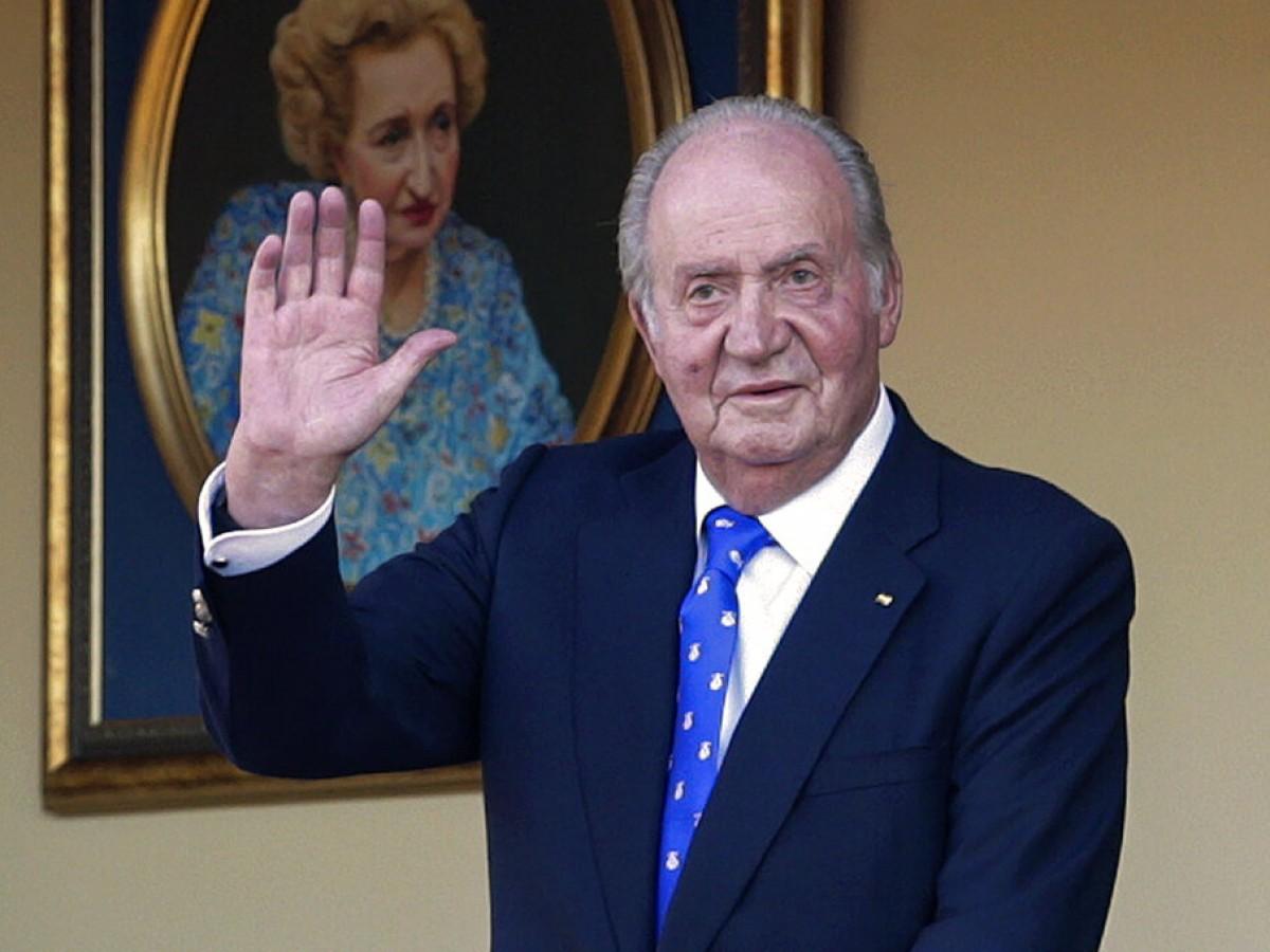 Rey Juan Carlos desmiente rumores de mala salud con una fotografía