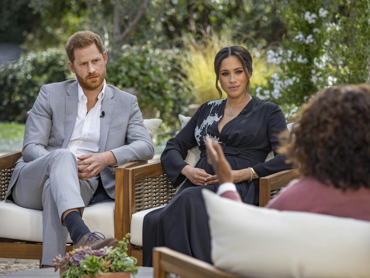 Oprah Winfrey contó lo que no se vio de su entrevista con Harry y Meghan Markle
