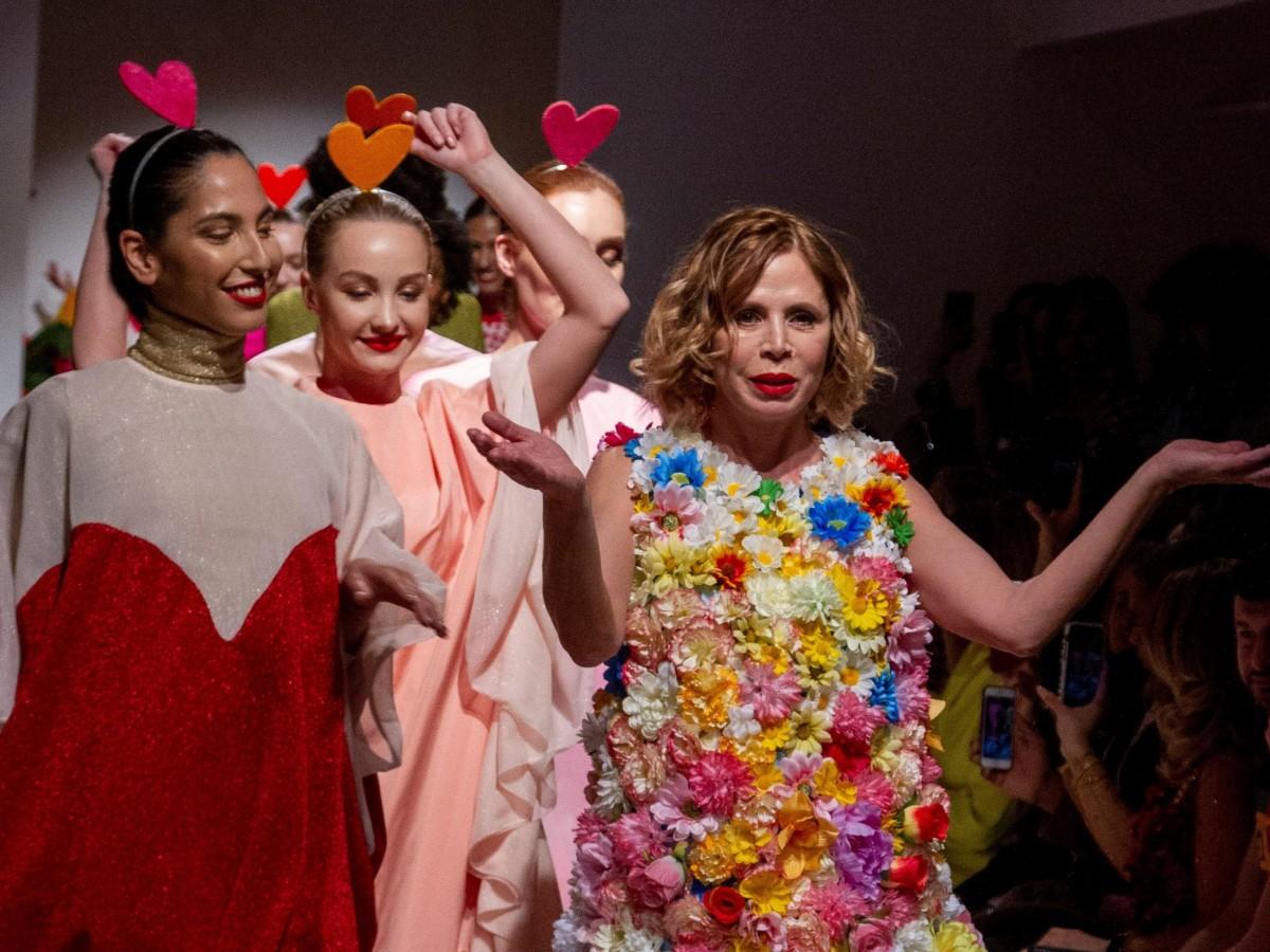 Ágatha Ruiz de la Prada lleva su arcoíris a la pasarela latina de Nueva York
