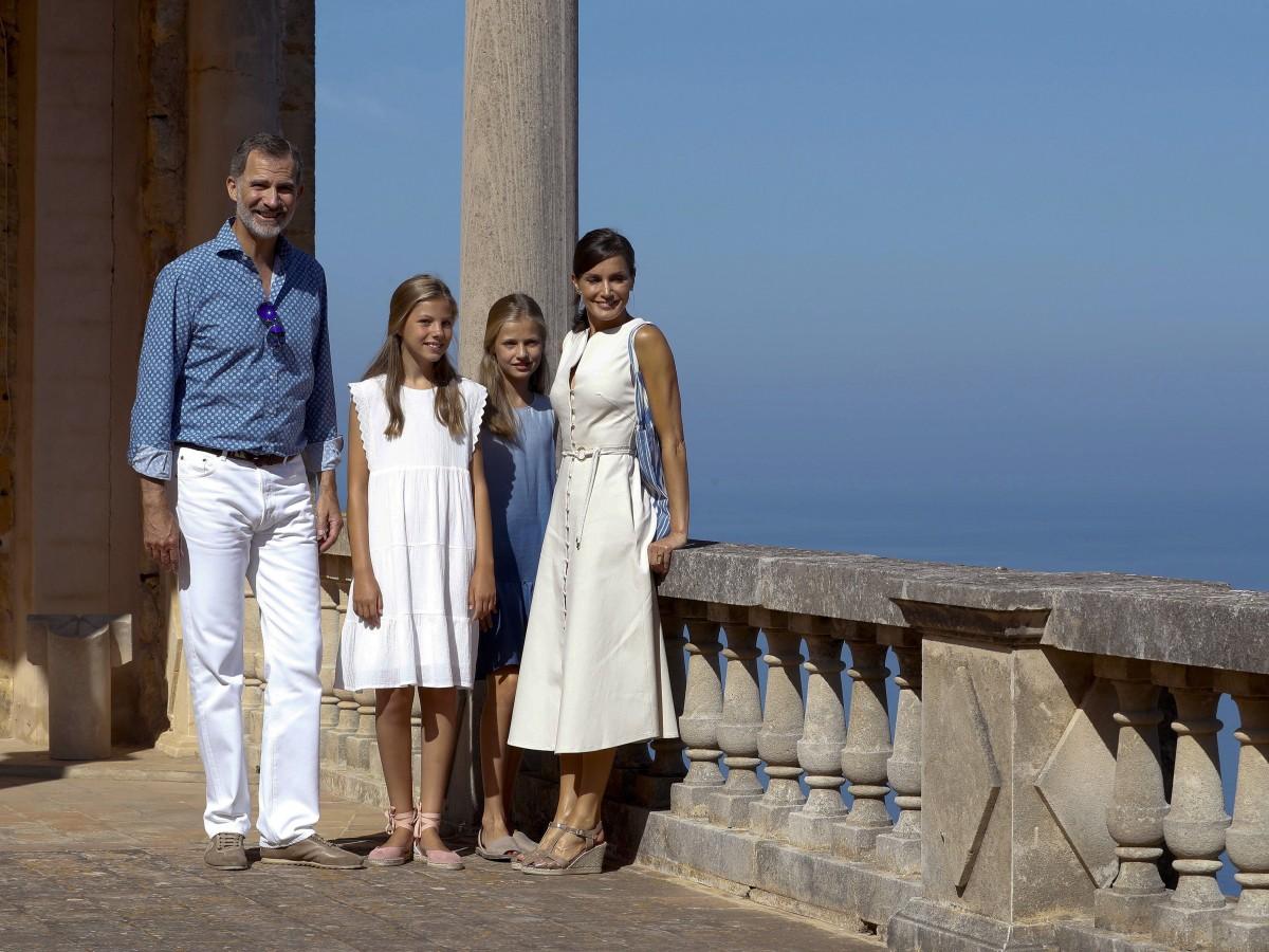 En armonía las vacaciones de los reyes de España