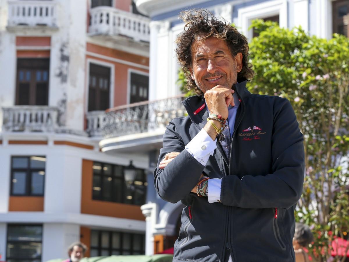 Álvaro de Marichalar visita Puerto Rico como parte de su vuelta al mundo a bordo de un jet-ski