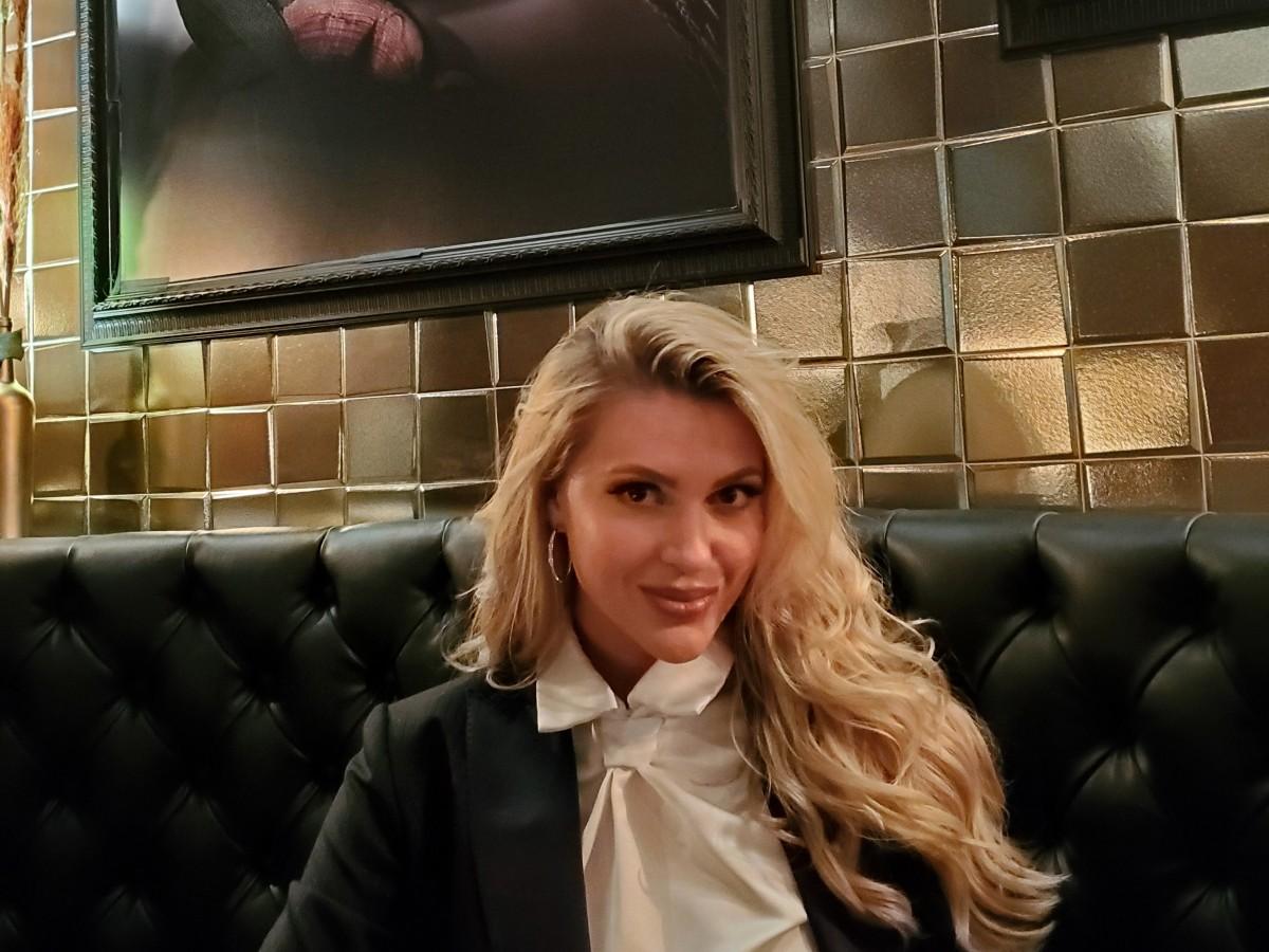 Madison Anderson es la embajadora de la fragancia masculina Ralph's Club