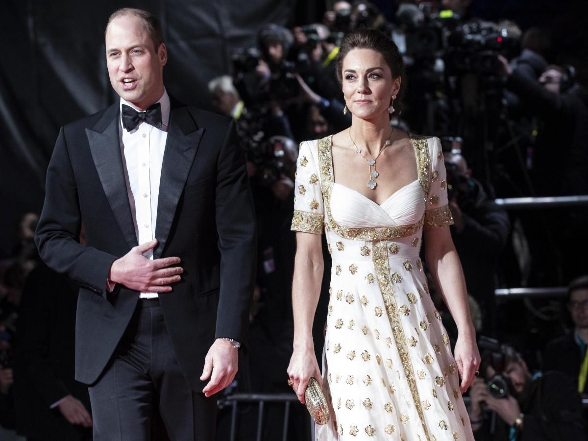Los duques de Cambridge deslumbran en los Premios Bafta