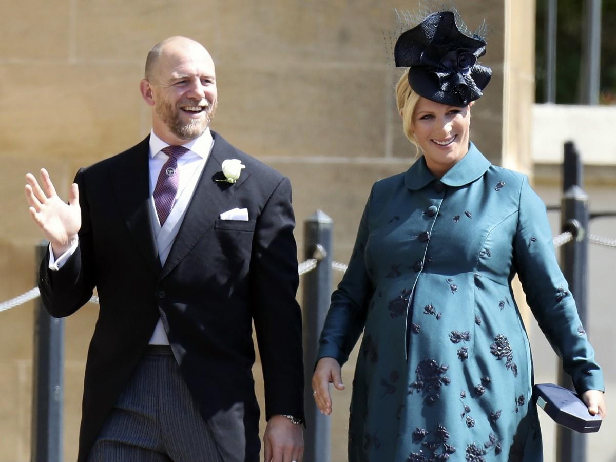 Zara Tindall, nieta de la reina Elizabeth II, da a luz en su casa