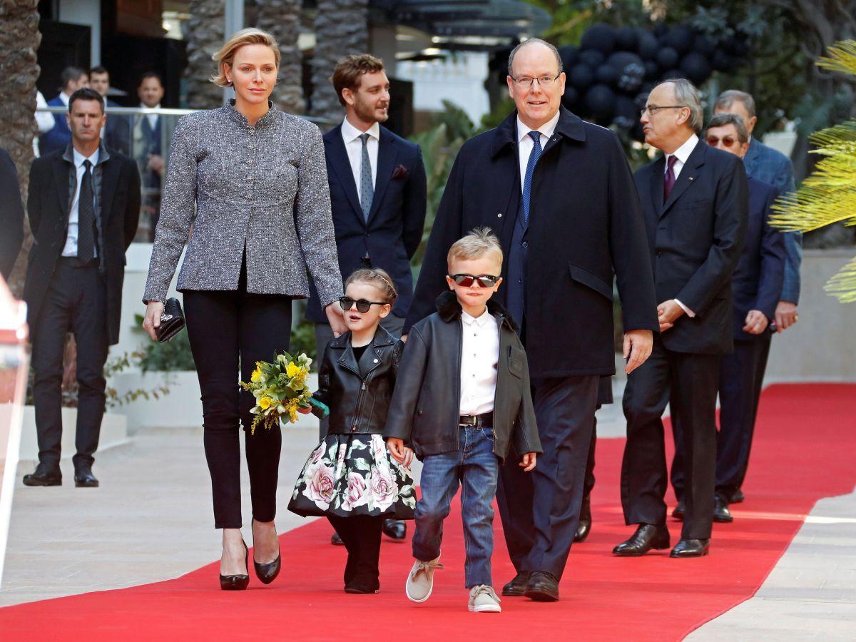 Se lucen los príncipes Gabriella y Jacques de Mónaco