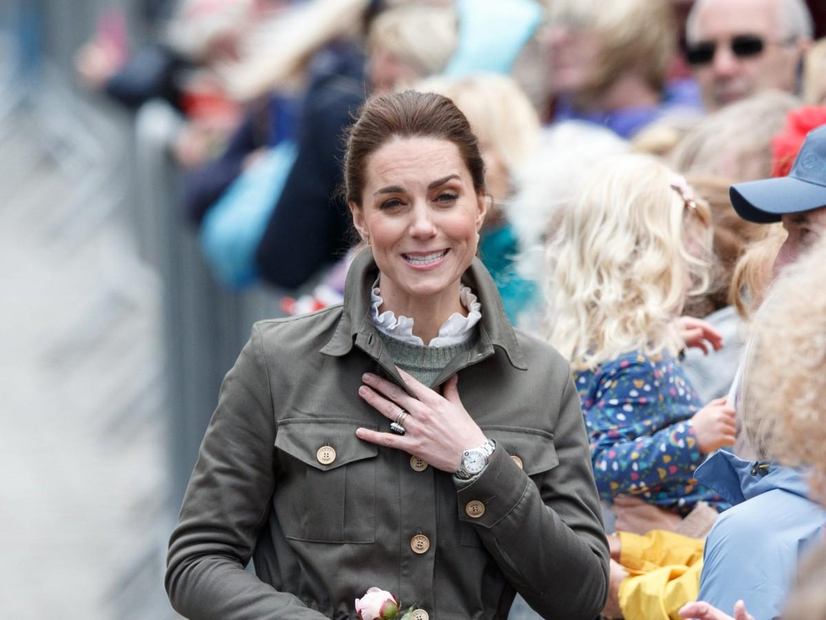 La respuesta de Kate Middleton a una niña que la comparó con Elsa