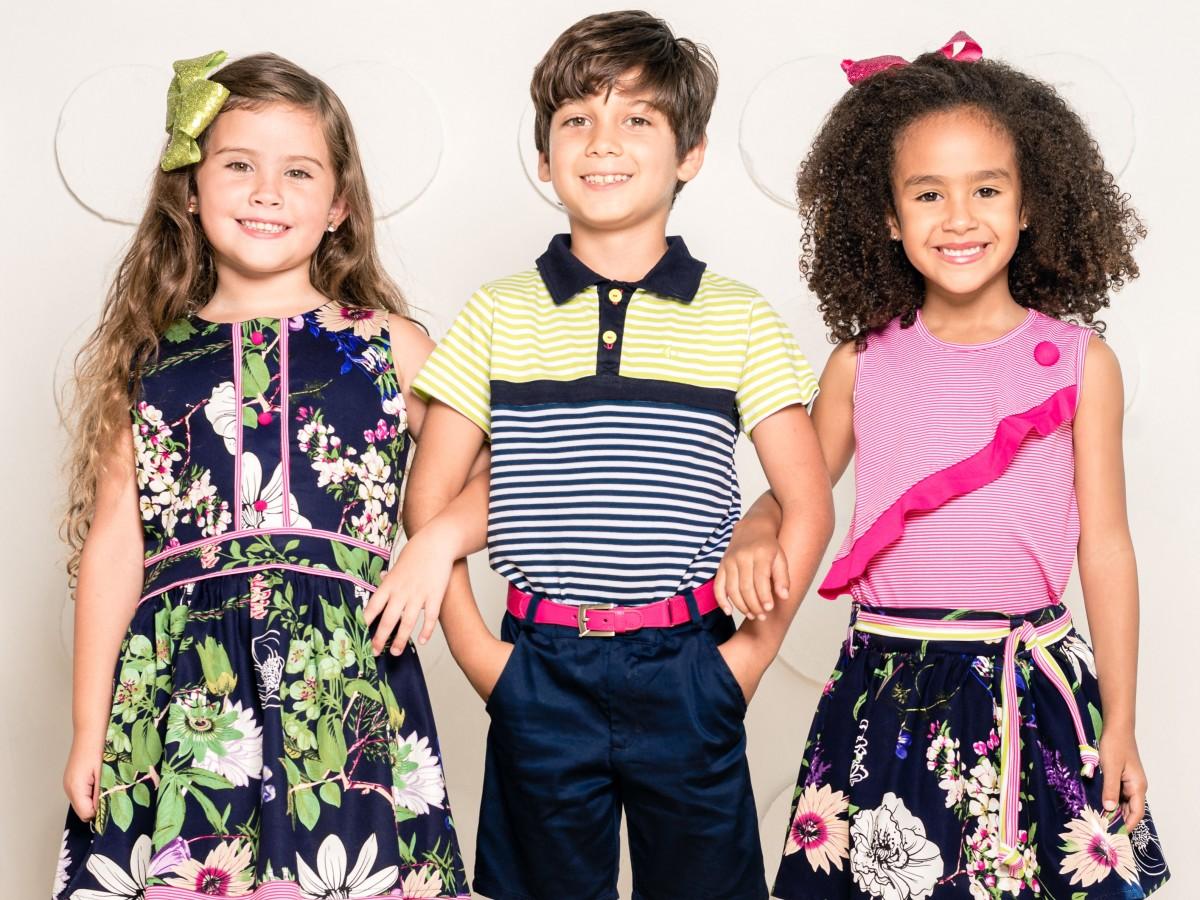 La naturaleza inspira la moda infantil