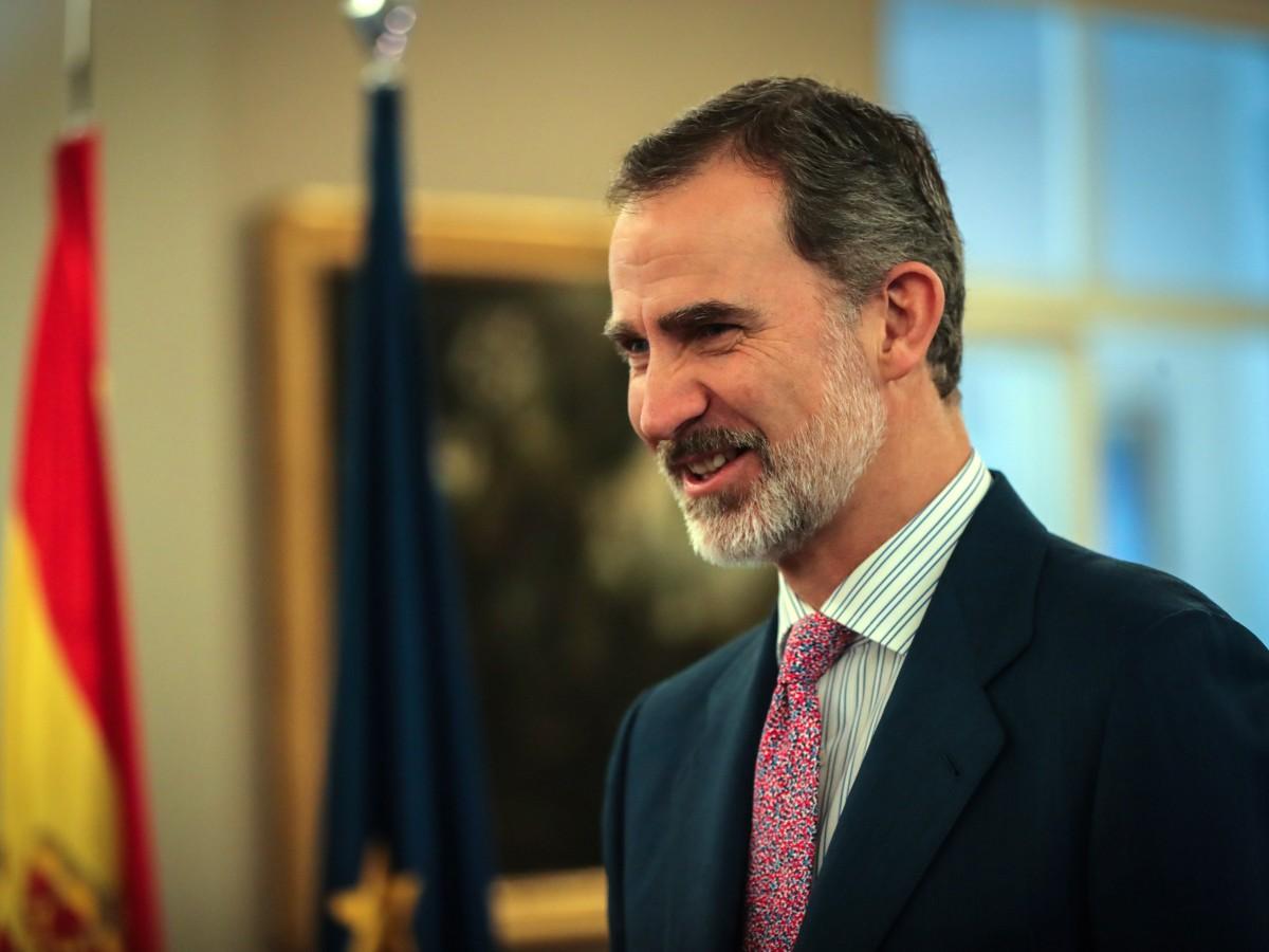 Felipe VI comunica el apoyo de España para liderar respuesta a pandemia