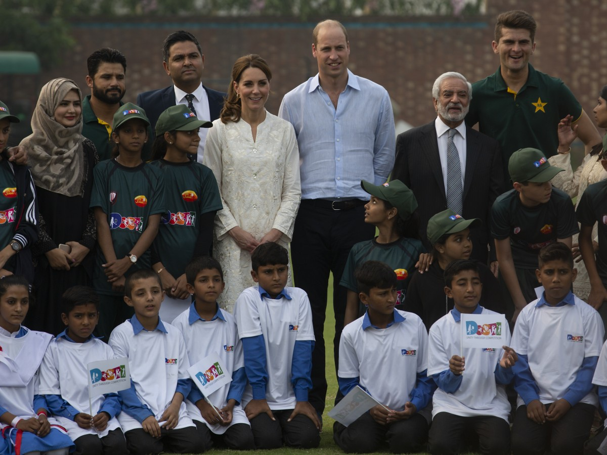 William y Kate siguen los pasos de la princesa Diana en Pakistán