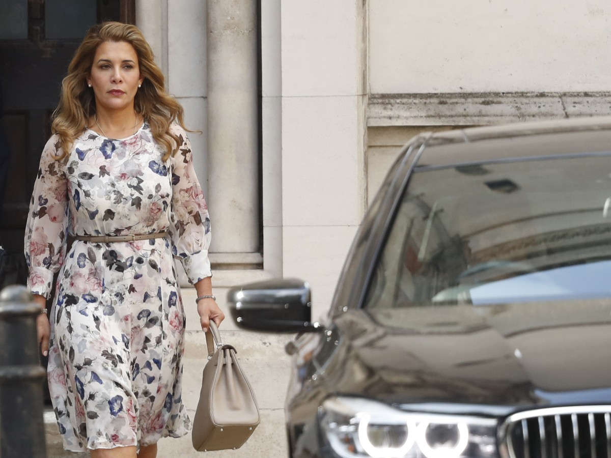 Caso sobre los hijos de la princesa Haya y el jeque de Dubái se verá en noviembre