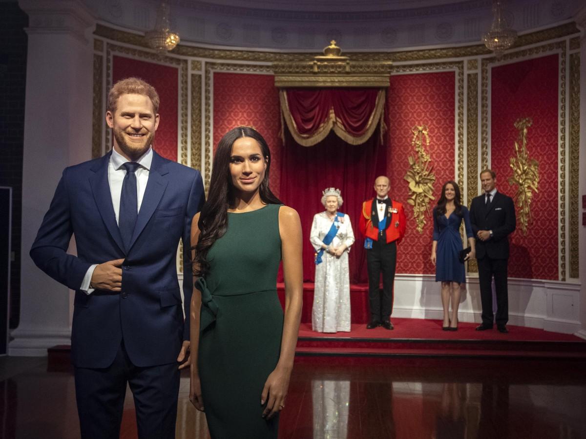 Madame Tussauds cambia de lugar las figuras de cera de Meghan y Harry