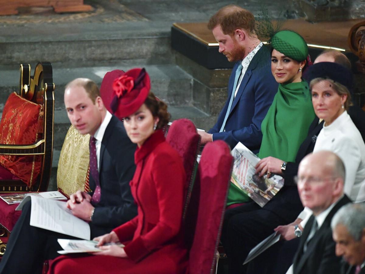 Los duques de Sussex realizan su última labor real en Gran Bretaña